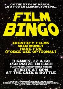 bingo27marchposter