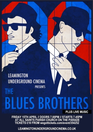 Blues brothers poster flyer 1000px